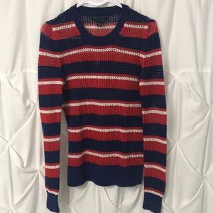 Tommy Hilfiger Red/White/Blue Sweater | Pre Owned